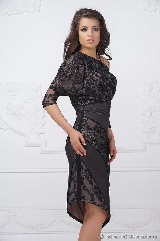 2da752532f2 Платья ручной работы. Платье  Malena . Polinasun13. Интернет-магазин  Ярмарка Мастеров ...