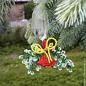 Подарки к праздникам ручной работы. Ярмарка Мастеров - ручная работа Новогодние колокольчики. Handmade.