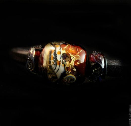"""Браслеты ручной работы. Ярмарка Мастеров - ручная работа. Купить Браслет регализ """"Красный агат"""". Handmade. Комбинированный, необычный подарок"""