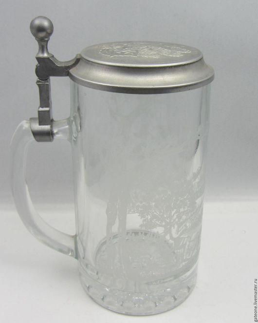 Винтажная посуда. Ярмарка Мастеров - ручная работа. Купить Пивная кружка  с оловом   Германия. Handmade. Комбинированный, пиво