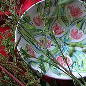 Посуда ручной работы. Ярмарка Мастеров - ручная работа Полевой цветочек. Handmade.