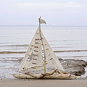 Подарки к праздникам handmade. Livemaster - original item The big SHIP. Handmade.