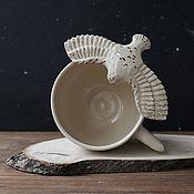"""Кружки ручной работы. Ярмарка Мастеров - ручная работа Кружка """"Полярная сова"""". Handmade."""