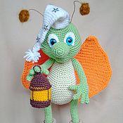 Куклы и игрушки ручной работы. Ярмарка Мастеров - ручная работа Светлячок Гринни. Handmade.