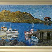 """Картины и панно ручной работы. Ярмарка Мастеров - ручная работа Картина """"Исландский пейзаж"""". Handmade."""