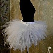 Одежда ручной работы. Ярмарка Мастеров - ручная работа Юбка со шлейфом из фатина для взрослых. Handmade.
