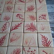 Декор ручной работы. Ярмарка Мастеров - ручная работа Керамическая плитка ручной работы. Handmade.