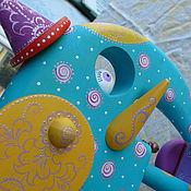 Для дома и интерьера ручной работы. Ярмарка Мастеров - ручная работа Бирюзовый слон. Handmade.