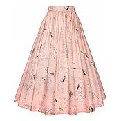 Одежда ручной работы. Ярмарка Мастеров - ручная работа Юбка Pink 80 см. Handmade.
