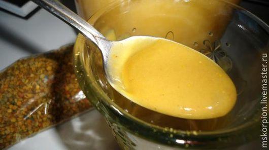 Био-Маска для корней волос с цветочной пыльцой, медом и прополисом