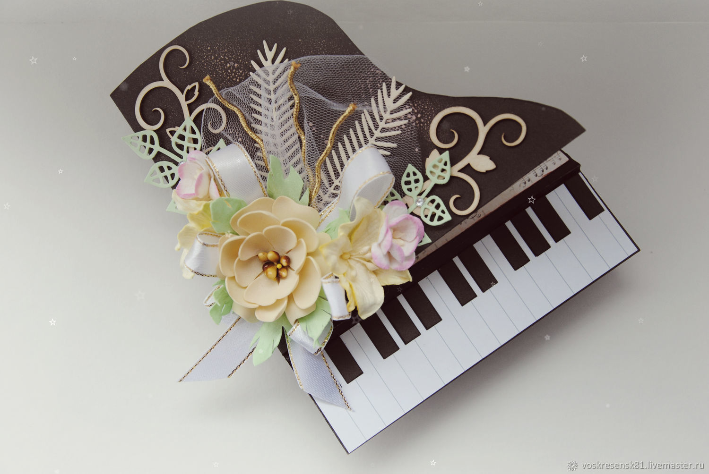 Музыкальные открытки магазины, открытка днем рождения