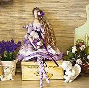 Куклы и игрушки ручной работы. Ярмарка Мастеров - ручная работа Кукла тильда ангел лавандовый фея. Handmade.