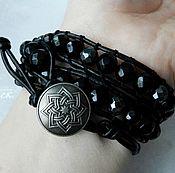 Фен-шуй и эзотерика handmade. Livemaster - original item A charm bracelet style Chan Luu agate and hematite. Handmade.