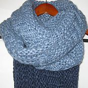 Аксессуары ручной работы. Ярмарка Мастеров - ручная работа Снуд - шарф мужской. Handmade.
