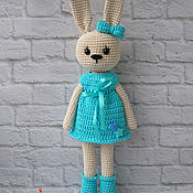Куклы и игрушки ручной работы. Ярмарка Мастеров - ручная работа Милашка зайка. Handmade.