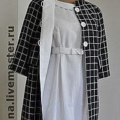 Одежда ручной работы. Ярмарка Мастеров - ручная работа Летнее пальто с вышивкой. Handmade.
