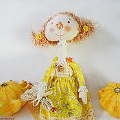 Куклы и игрушки ручной работы. Ярмарка Мастеров - ручная работа Куколка Сентябринка. Handmade.