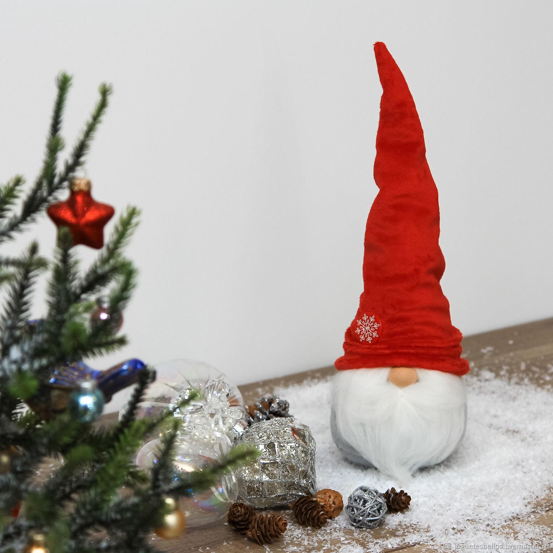 c9a718b5f944c Купить Игрушка Рождественский Гном Игрушки животные, ручной работы. Игрушка  Рождественский Гном, гномик. Подарок на Новый год