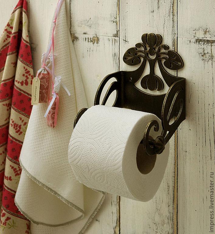 Держатель для туалетной бумаги Резной, Держатели, Тверь,  Фото №1