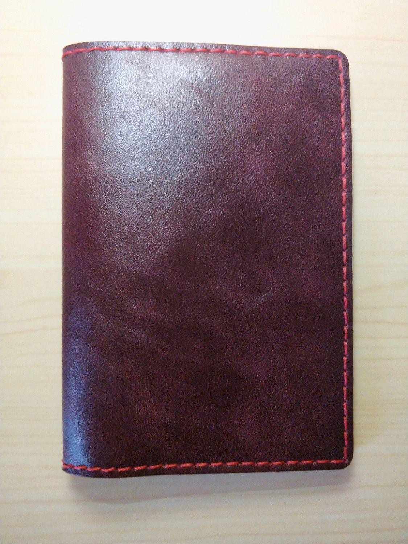 Обложка для паспорта, натуральная кожа, 100% ручная работа, Обложки, Екатеринбург, Фото №1