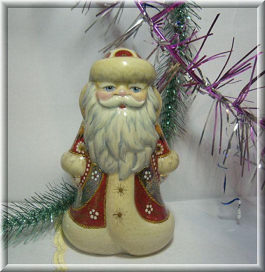 New Year 2017 handmade. Livemaster - handmade. Buy Grandfather Frost. REAL RUSSIAN.Santa claus, christmas souvenir