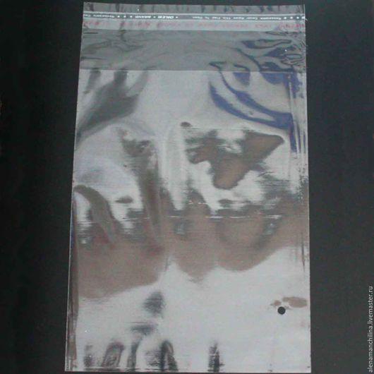 Упаковка ручной работы. Ярмарка Мастеров - ручная работа. Купить Пакет 45х55/60 см. прозрачный с клеевым клапаном (с проб. отверстием). Handmade.