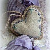 Для дома и интерьера ручной работы. Ярмарка Мастеров - ручная работа Подвески с вышивкой Лавандовые сны. Handmade.