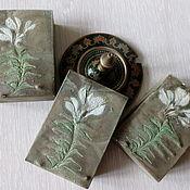 Косметика ручной работы handmade. Livemaster - original item silk souffle Flower patchouli. Handmade.