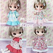Куклы и игрушки handmade. Livemaster - original item Dresses for Middie Blythe Middie Blythe 20cm. Children`s style. Handmade.