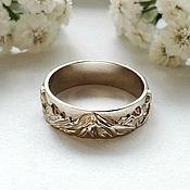handmade. Livemaster - original item Mountain Ring No. №1 in 585 white gold (Ob11). Handmade.