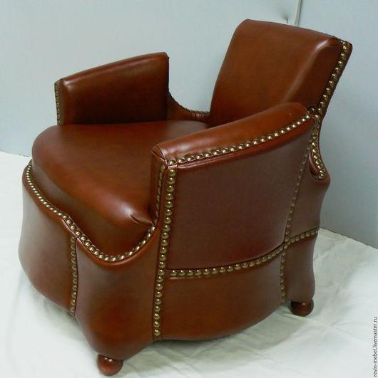 """Мебель ручной работы. Ярмарка Мастеров - ручная работа. Купить авторское кресло """"танго"""". Handmade. Авторская работа, кожаное кресло"""