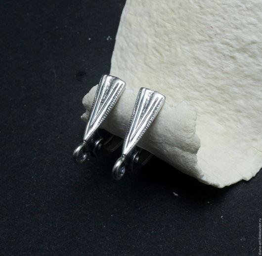 Для украшений ручной работы. Ярмарка Мастеров - ручная работа. Купить Швензы для серег посеребренные. Handmade. Швензы, швензы для серег