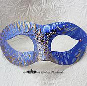 """Одежда ручной работы. Ярмарка Мастеров - ручная работа Карнавальная маска """"Синяя"""". Handmade."""