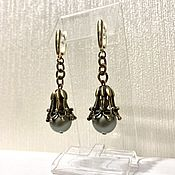 Украшения handmade. Livemaster - original item Earrings classic: Under vintage. Handmade.