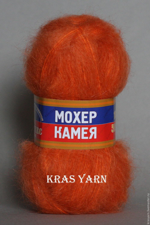 Пряжа для вязания камтекс камея мохер