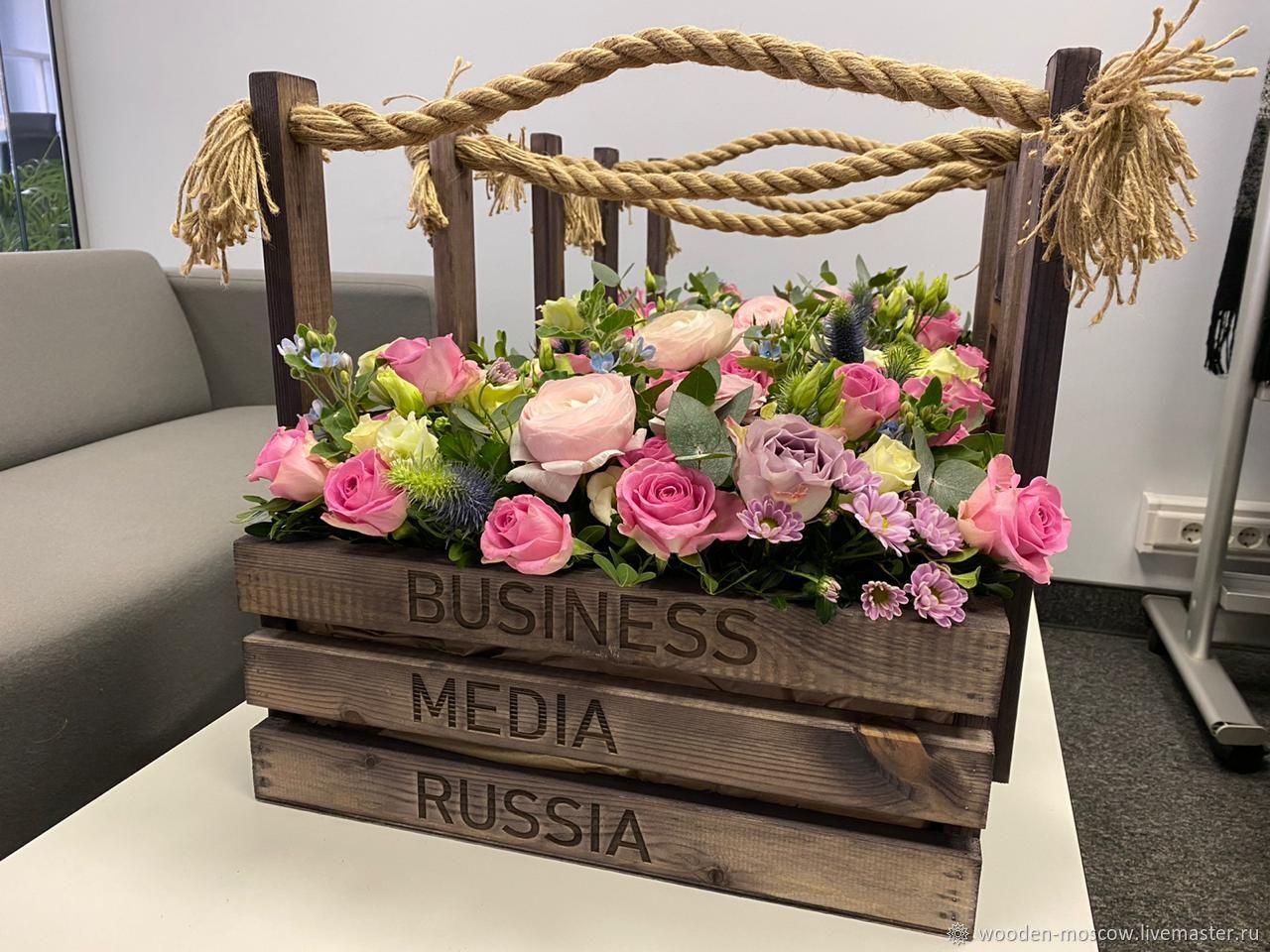 Подарочная упаковка - ящики из дерева, Ящики, Москва,  Фото №1