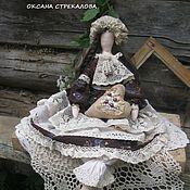"""Куклы и игрушки ручной работы. Ярмарка Мастеров - ручная работа Кукла Тильда """"Кофейная Феечка"""". Handmade."""