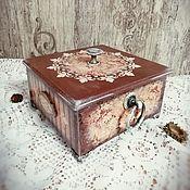 "Для дома и интерьера handmade. Livemaster - original item Шкатулка ""Наследие"". Handmade."