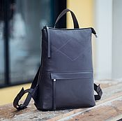 Сумки и аксессуары handmade. Livemaster - original item Backpack leather female