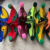 Одежда детская handmade. Livemaster - original item Shoes for children:felt plumes 29-30 size. Handmade.