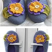 """Обувь ручной работы. Ярмарка Мастеров - ручная работа Тапочки """"Весна"""". Handmade."""