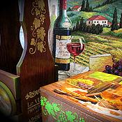 """Для дома и интерьера ручной работы. Ярмарка Мастеров - ручная работа Короб для хранения """"Виноград"""". Handmade."""
