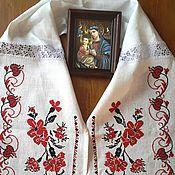 Русский стиль handmade. Livemaster - original item towel - bojnik. Handmade.
