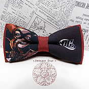 Аксессуары handmade. Livemaster - original item bow tie harley quinn/ comics/ harley quinn and the joker. Handmade.