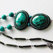 Украшения handmade. Livemaster - original item Pendant with natural stones of Eilat. Handmade.