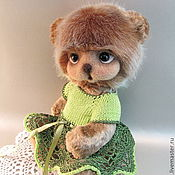 Куклы и игрушки handmade. Livemaster - original item Teddy Bear Audrey. Handmade.