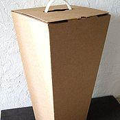 """Материалы для творчества ручной работы. Ярмарка Мастеров - ручная работа коробка """"Трапеция"""" 50 х25х25 см, высокая. Handmade."""