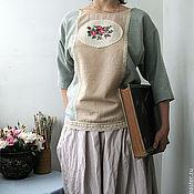 """Одежда ручной работы. Ярмарка Мастеров - ручная работа Блуза """"С розами"""". Handmade."""