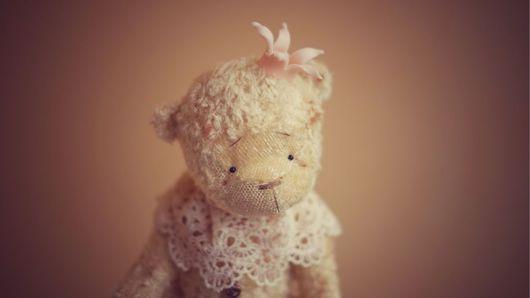 Мишки Тедди ручной работы. Ярмарка Мастеров - ручная работа. Купить Маленький принц Бараш. Авторский мишка.. Handmade. опилки