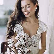 Свадебный салон ручной работы. Ярмарка Мастеров - ручная работа Платье FALL/WINTER 2014-15, свадебное платье. Handmade.
